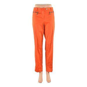 Michael Kors Dress Pants 12 Orange